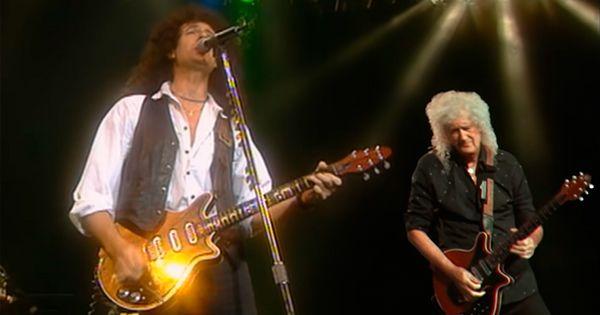 brian-may-(queen)-graba-un-dueto-de-guitarra-con-el-mismo-de-joven